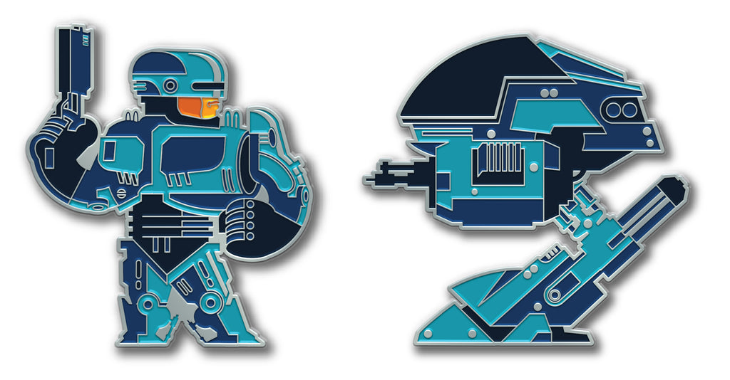 "Tom Whalen ""Alex Vs ED"" Pin Set"