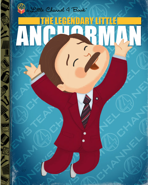 "Joey Spiotto ""The Legendary Little Anchorman"" Print"