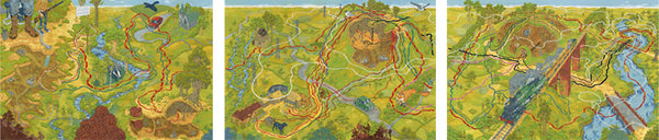 "Andrew DeGraff ""The Watership Down Triptych"""