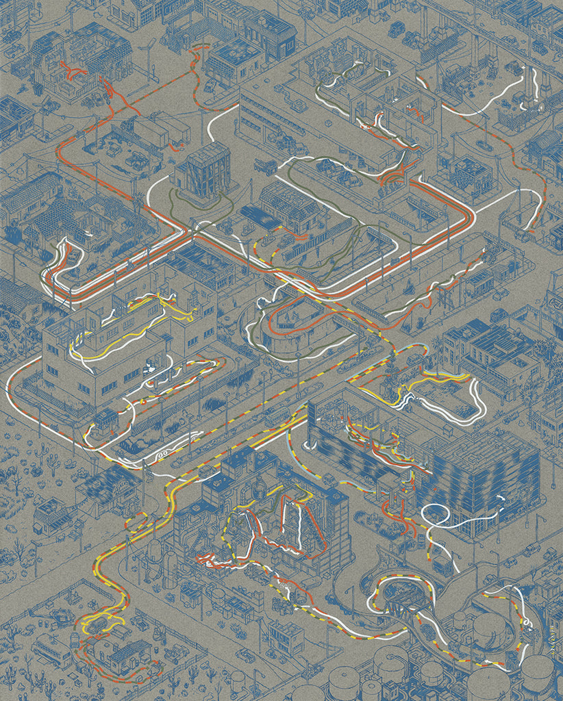 "Andrew DeGraff ""Paths of Judgement"" Print"