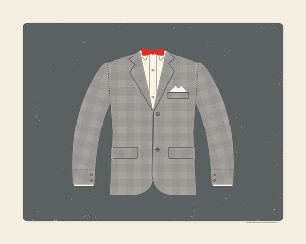 "Andrew Heath ""Playhouse Attire"" Print"
