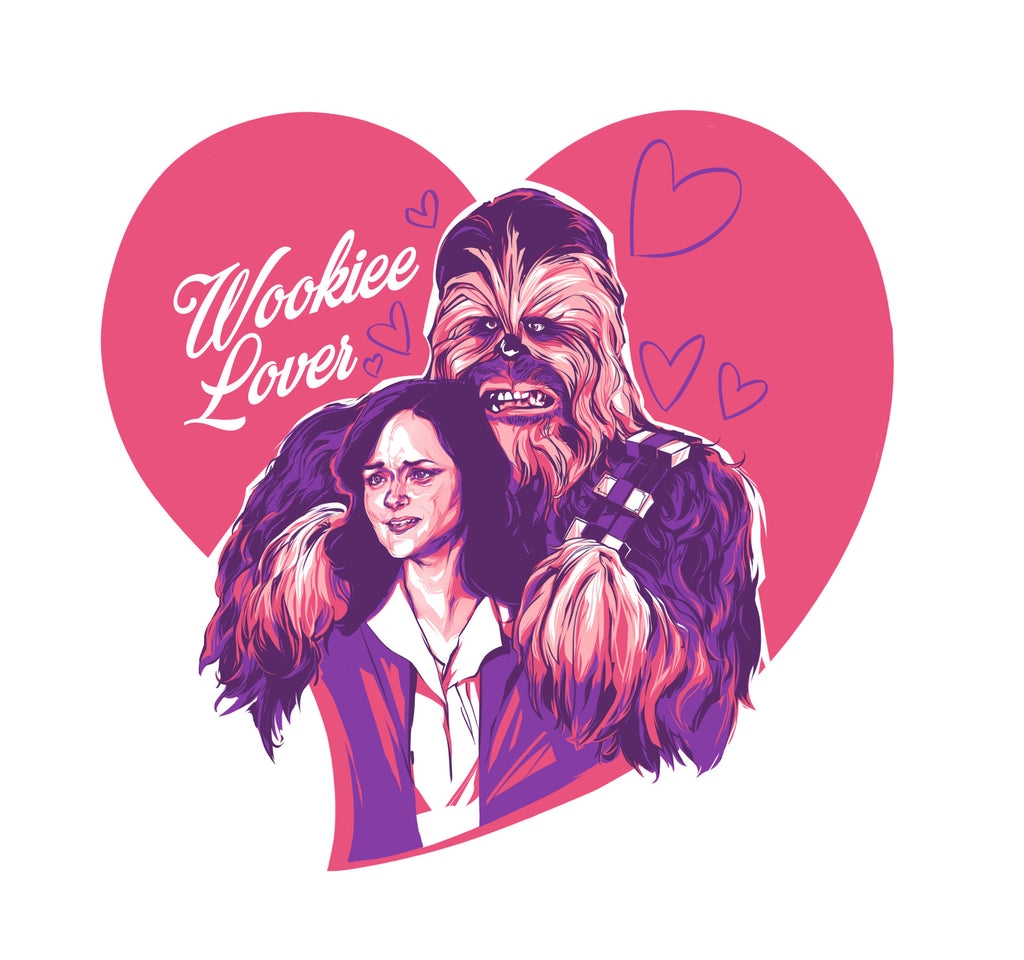 "Andrew Thompson ""Wookiee Lover"" Valentine's Day Card"