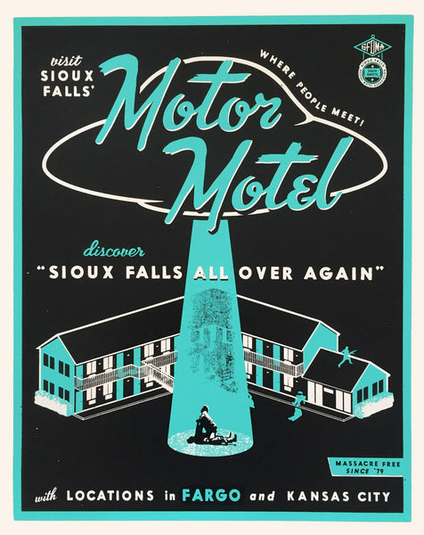 "Andy Pitts ""Sioux Falls all over again"" Print"