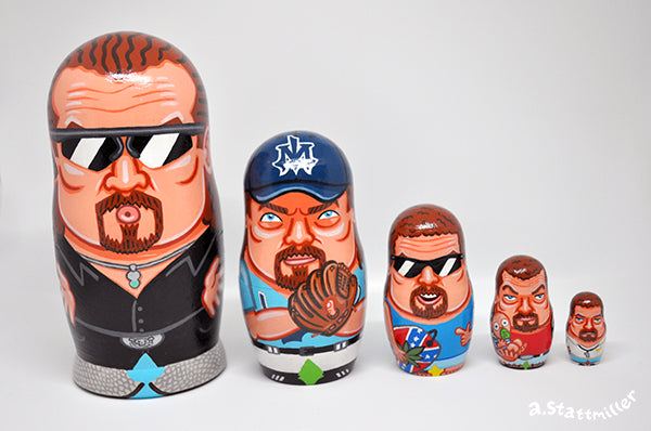 "Andy Stattmiller ""Kenny Powers Nesting Doll"""