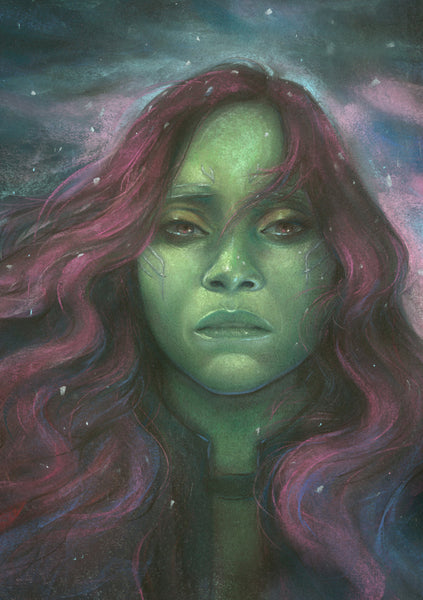 "Ashly Lovett ""Gamora"" Print"