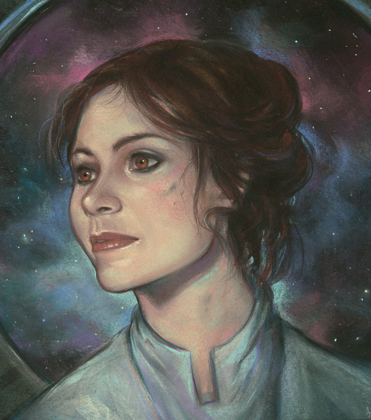 "Ashly Lovett ""Leia"" Print"