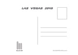 "Augie Pagan ""Welcome to Vegas"" Postcard Print"