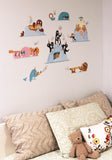 "Austin Gilmore ""Arctic Jam Band"" Wall Decals"