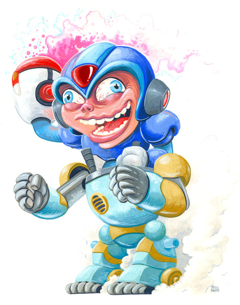 "Bill Main ""Mega Man X"""
