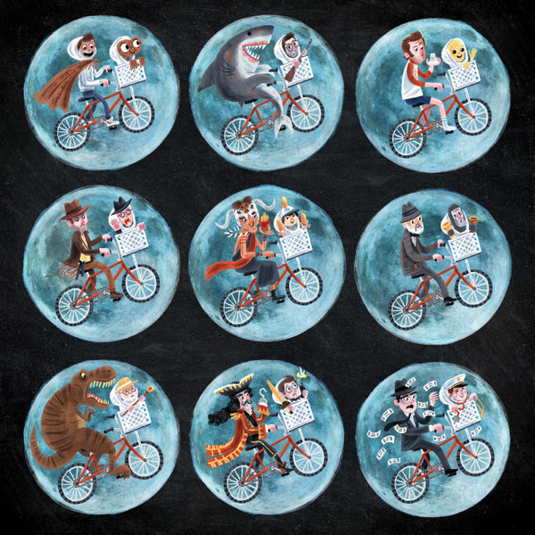 "Luke Flowers ""BMX Buddies"" Print"