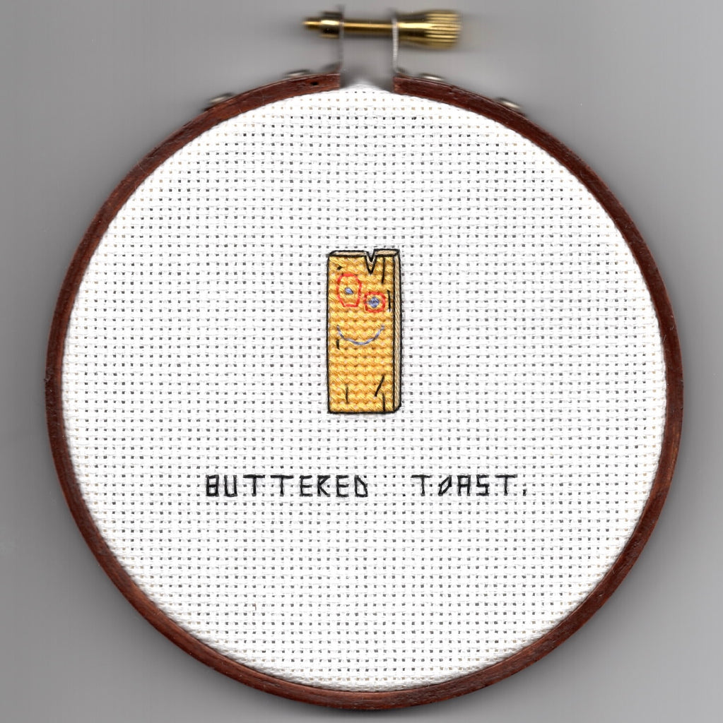 "Oh Sew Nerdy ""Buttered toast."""