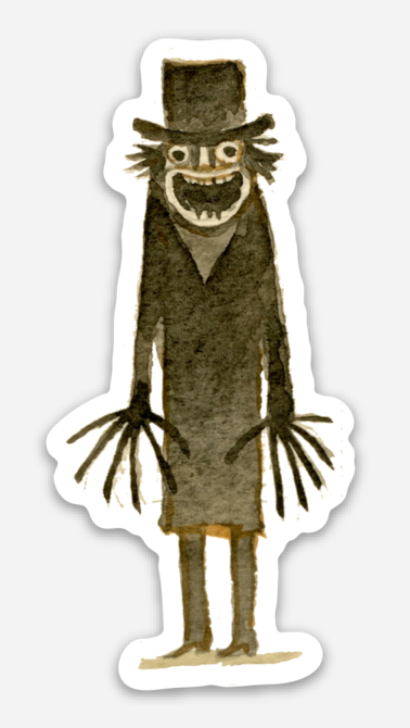".Scott C. ""Babadook Showdown"" Sticker"