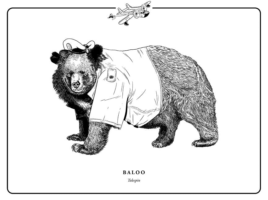 "Evan Yarbrough ""Baloo"" Print"