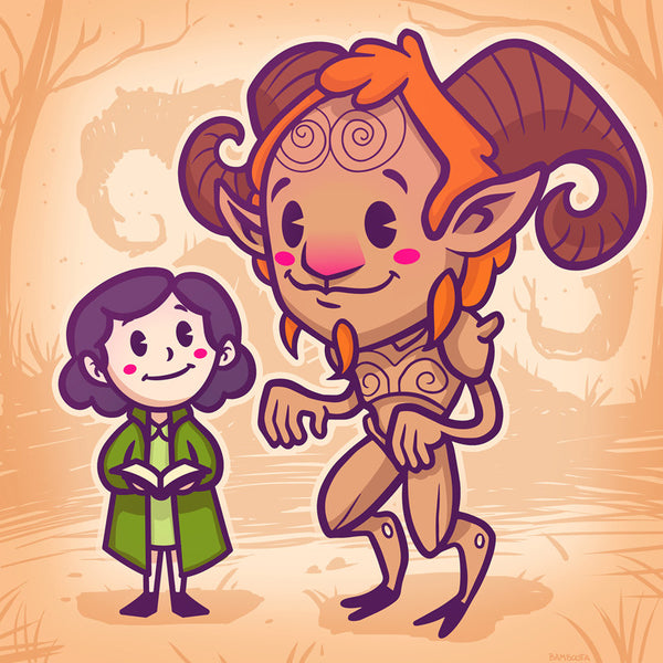 "Bamboota ""Labyrinth Besties"" Print"
