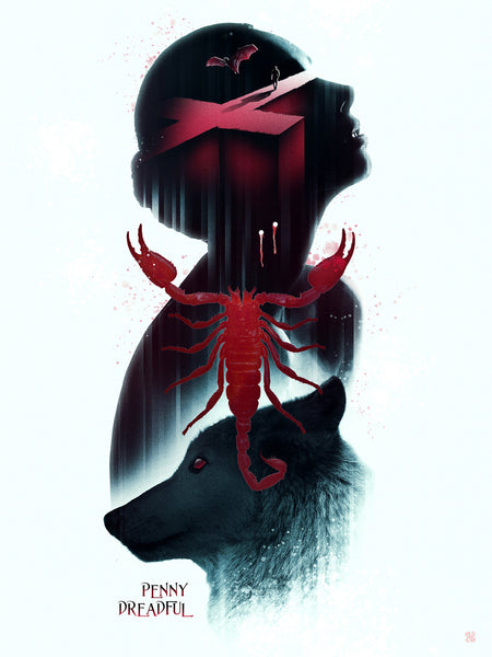 "Barrett Biggers ""The Scorpion"" Print"