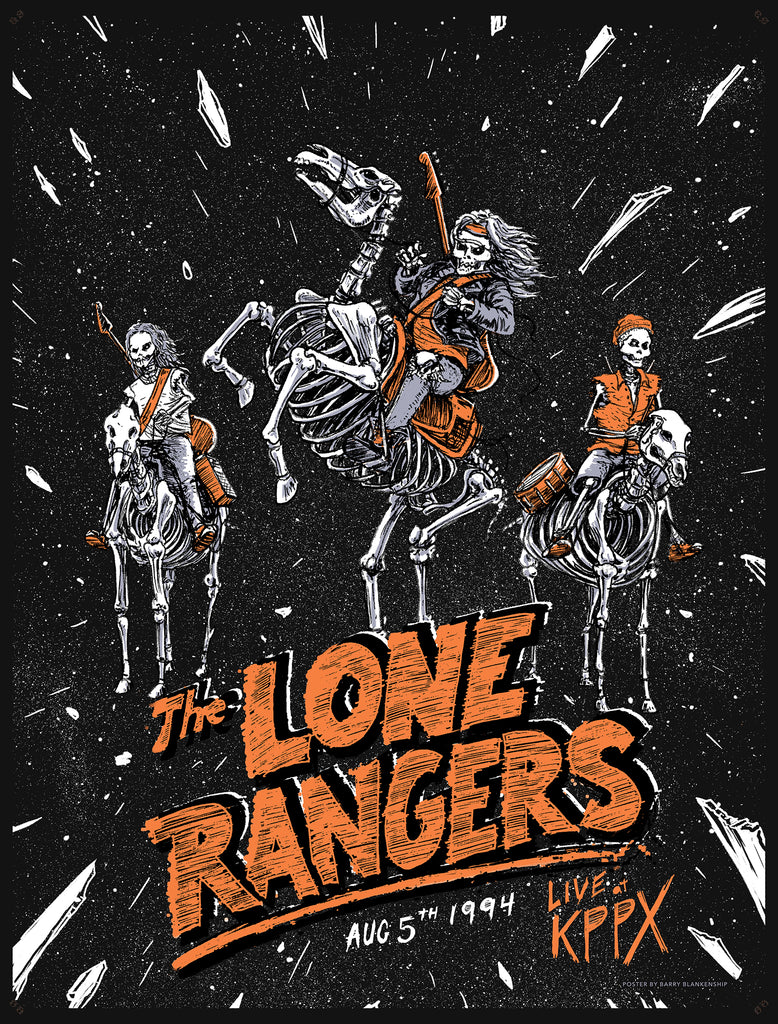 "Barry Blankenship ""Lone Rangers Live at KPPX"" Print"