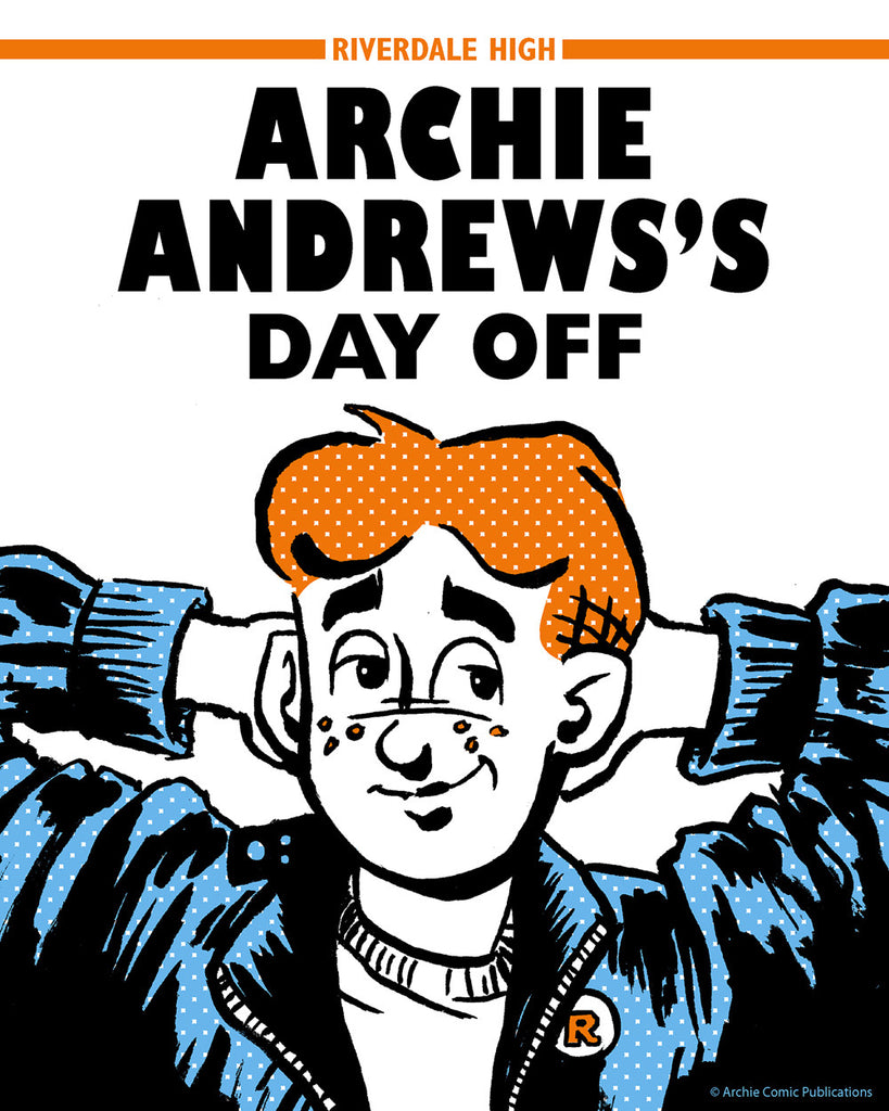"Barry Blankenship ""Archie's Day Off"" Print"