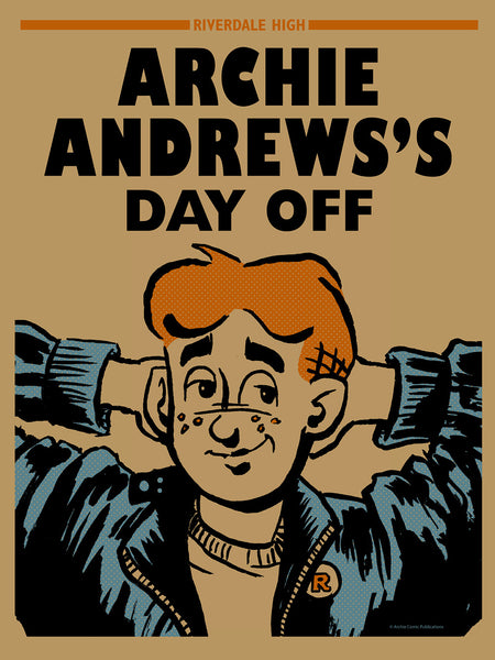 "Barry Blankenship ""Archie's Day Off Poster"" Print"