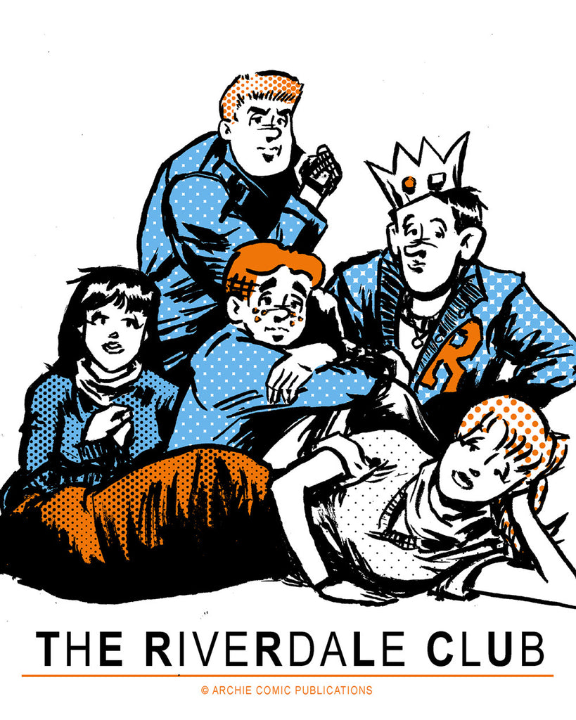 "Barry Blankenship ""Riverdale Club"" Print"