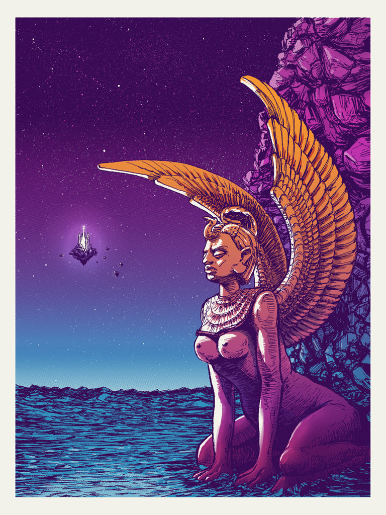 "Barry Blankenship ""Oracle"" Print"