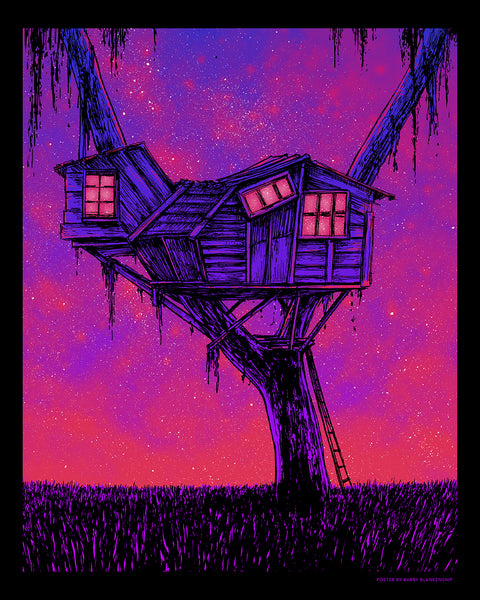 "Barry Blankenship ""Squad Treehouse"" Print"