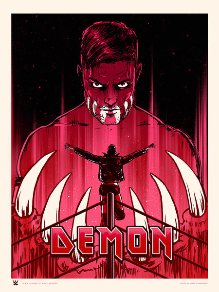 "Barry Blankenship ""Demon"" Print"