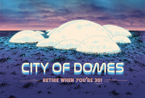 "Barry Blankenship ""City of Domes"" Postcard Print"
