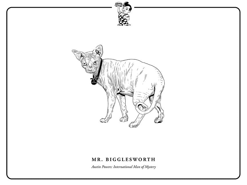"Evan Yarbrough ""Mr. Bigglesworth"" Print"