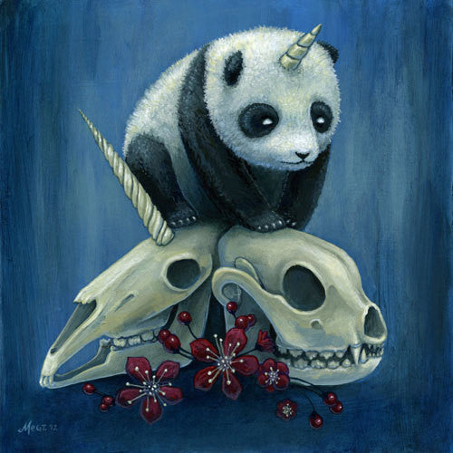 "Megan Majewski ""Birth of Pandacorn"" Print"