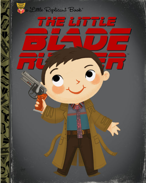 "Joey Spiotto ""The Little Blade Runner"" Print"