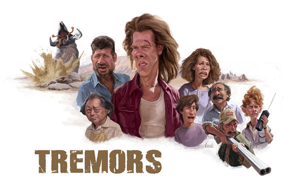 "Blake Loosli ""Tremors"" Print"