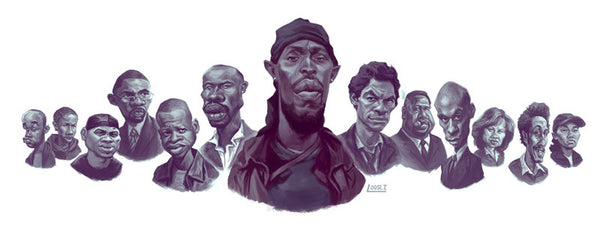"Blake Loosli ""The Wire"" Print"