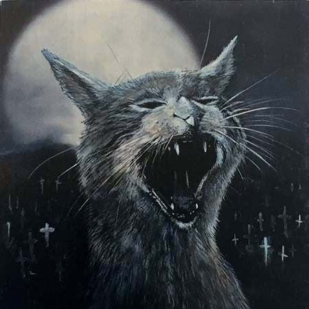 "Brett Crawford ""Squeaking sounds from the Sematary"" Wood Print"