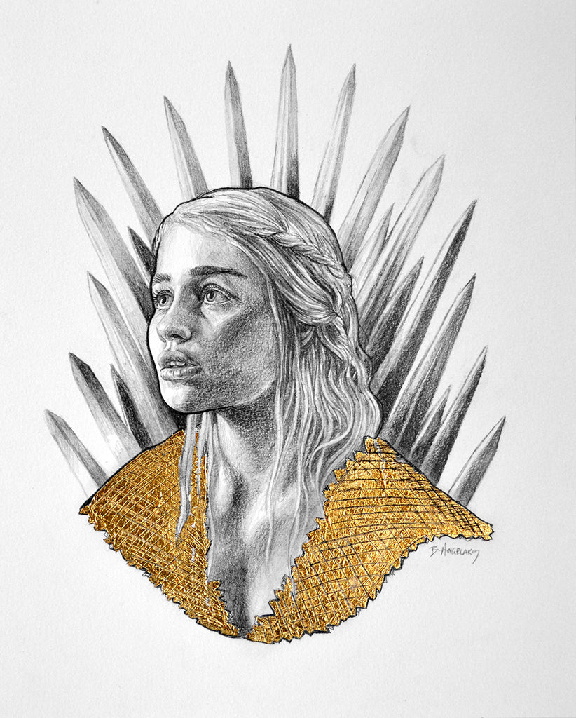 "Brianna Angelakis ""Game Of Thrones: A Portrait of Daenerys Targaryen"""