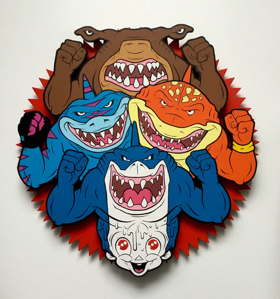 "Bruce Parker ""Street Sharks Blew My Mind"""