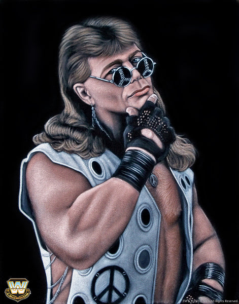 "Bruce White ""HBK Shawn Michaels"" Print"