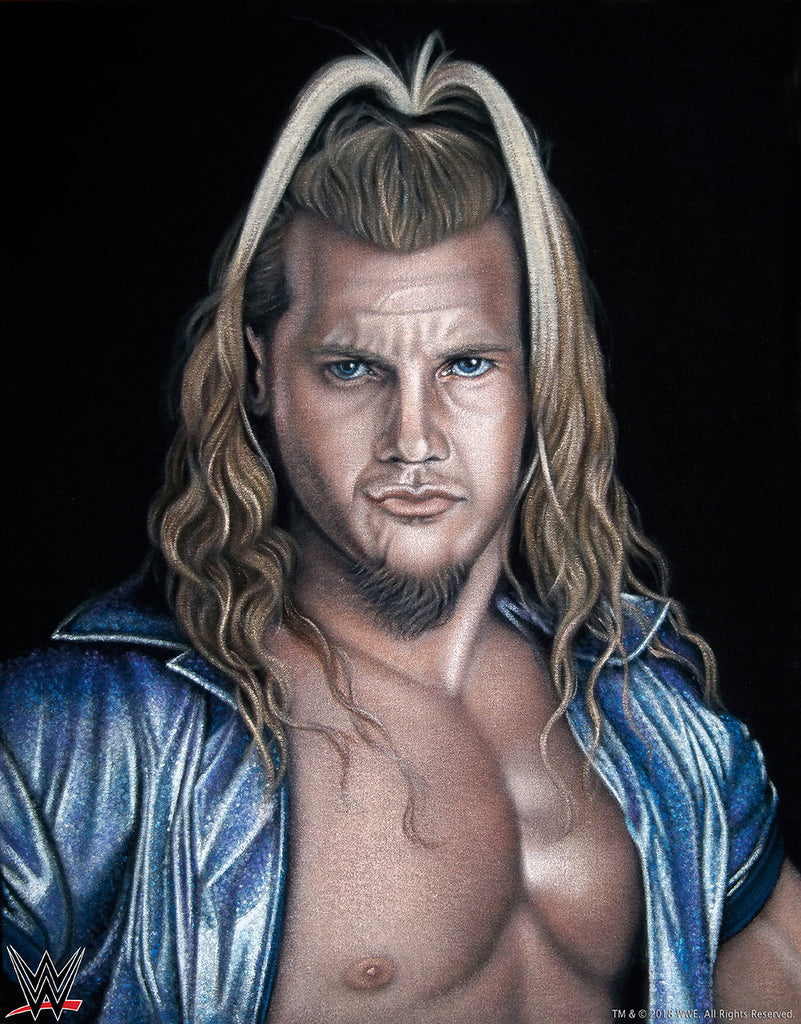 "Bruce White ""Chris Jericho"" Print"
