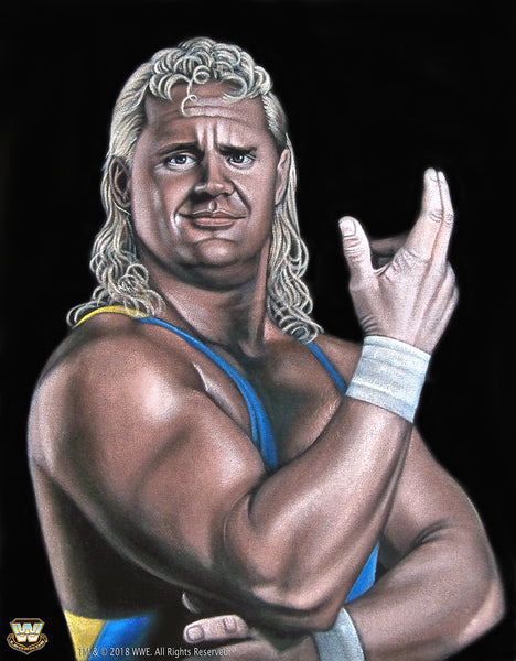 "Bruce White ""Mr Perfect"" Print"