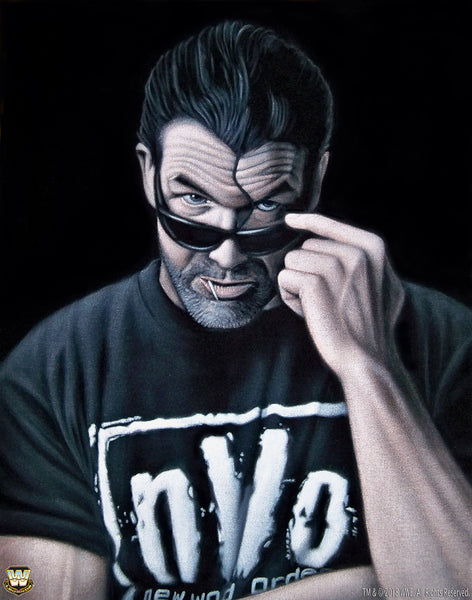"Bruce White ""Scott Hall"" Print"
