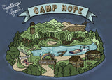 "Bryan Brinkman ""Greetings from Camp Hope"" Postcard Print"