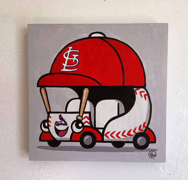 "Ryan Hungerford ""Cardinals Bullpen Car"""