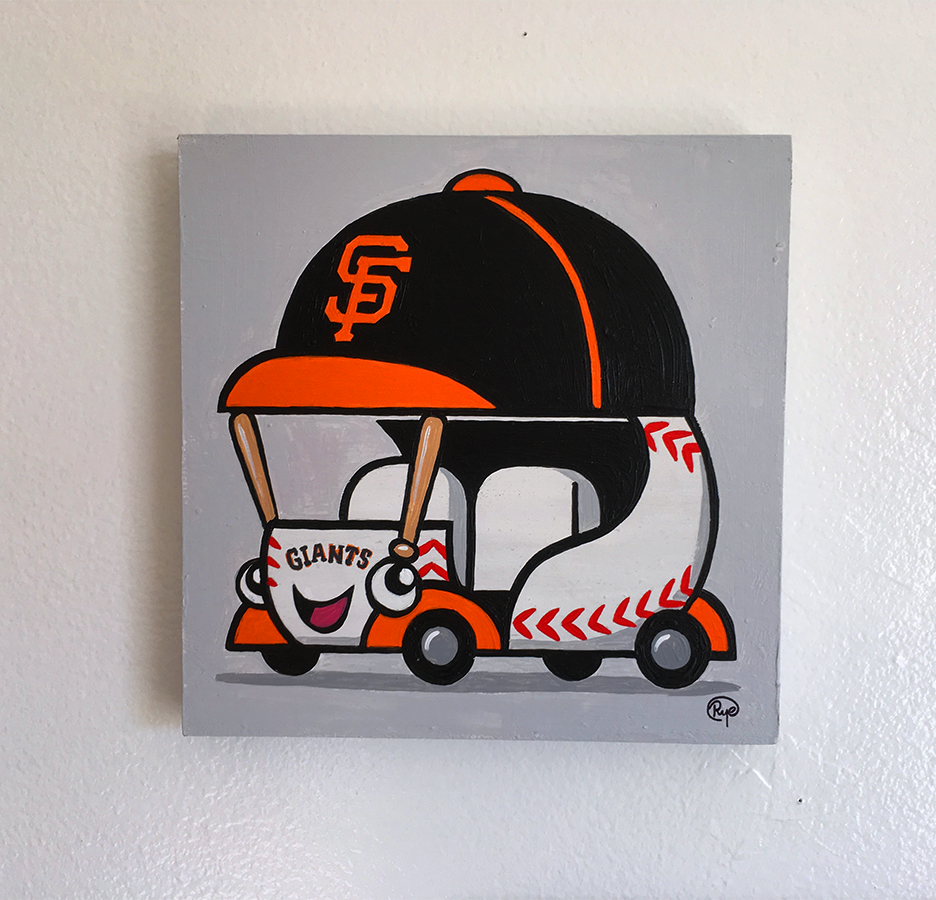 "Ryan Hungerford ""Giants Bullpen Car"""