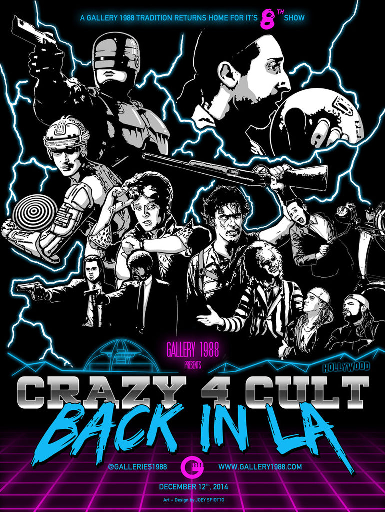 ".Joey Spiotto ""Crazy 4 Cult 8"" Poster"