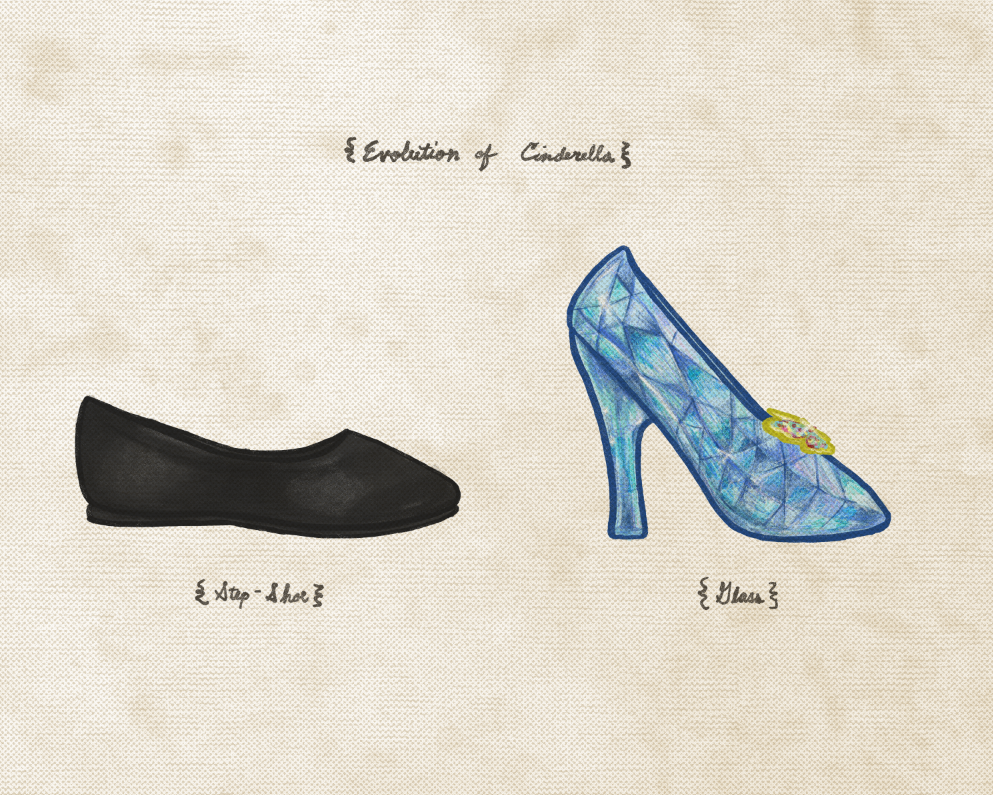 "Joe Van Wetering ""Evolution of Cinderella"" Print"
