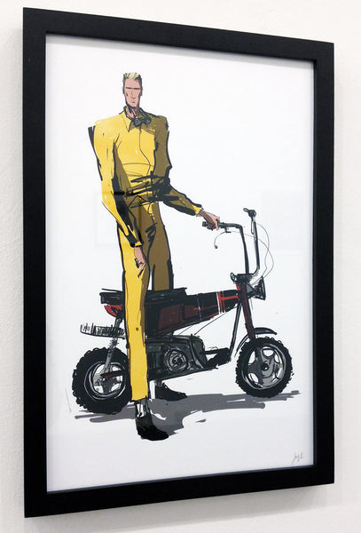 "CLAUS ""Little Banana"" Framed Print"