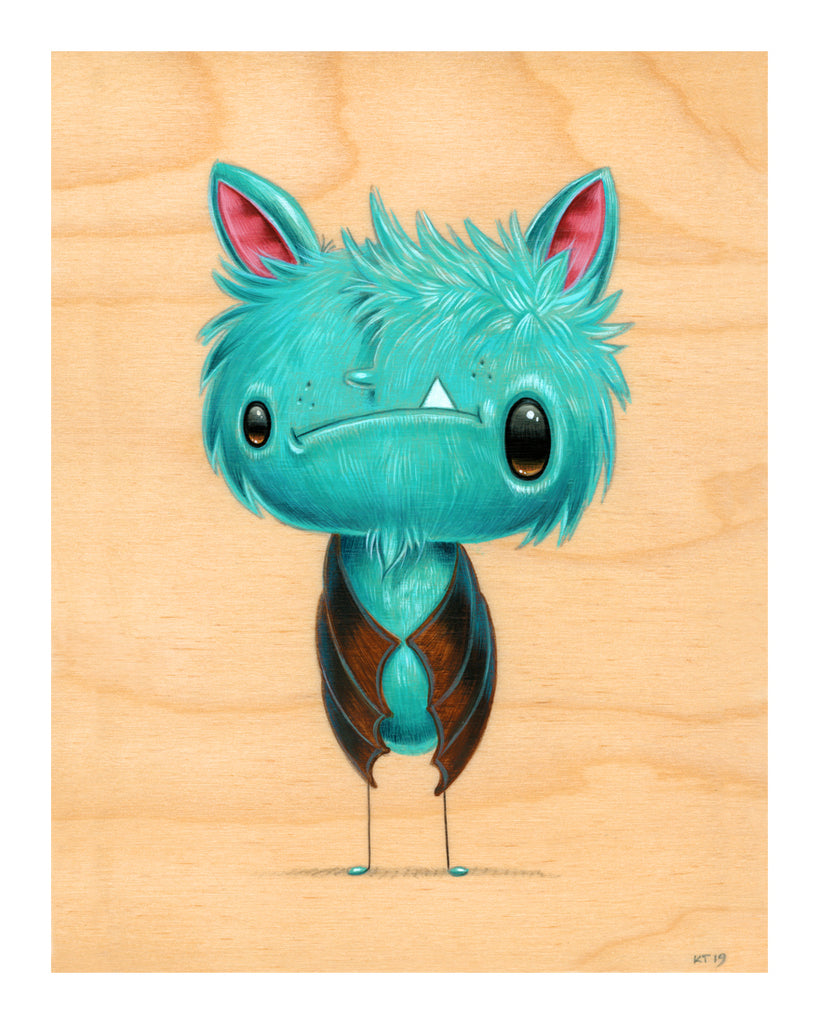 "Cuddly Rigor Mortis ""Olly Bloolether"" Print"