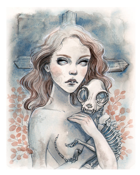 "Carla Wyzgala ""Sometimes, Death is Better"" Print"
