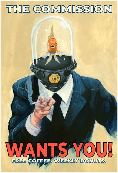 "Jason Chalker ""The Commission Wants You"" Print"