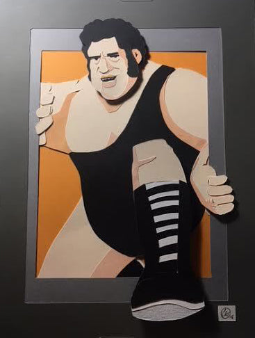 "Charles Thurston ""THE GIANT"" Print"