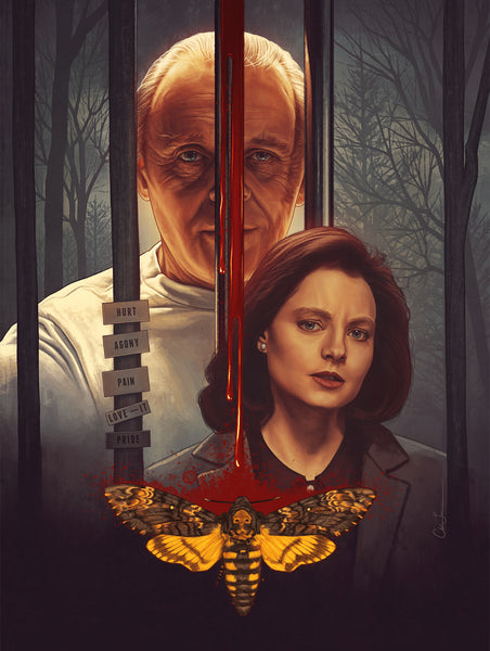 "Chelsea Lowe ""The Silence of the Lambs"" Print"